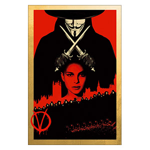V for Vendetta. Размер: 20 х 30 см
